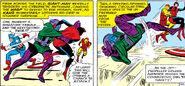 Nathaniel Richards (Kang) (Earth-6311) vs Avengers (Earth-616) from Avengers Vol 1 8 0005