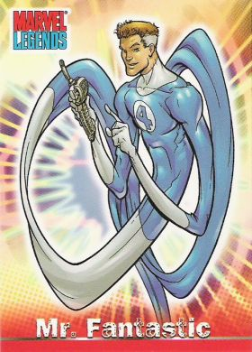 Reed Richards (Earth-616) from Marvel Legends (Trading Cards) 0001