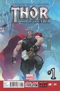 Thor God of Thunder Vol 1 1
