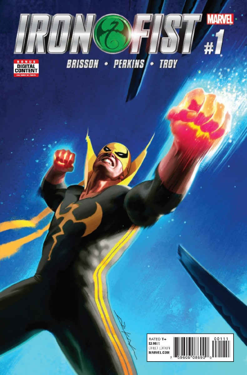 Image result for Iron Fist Vol 5 #5