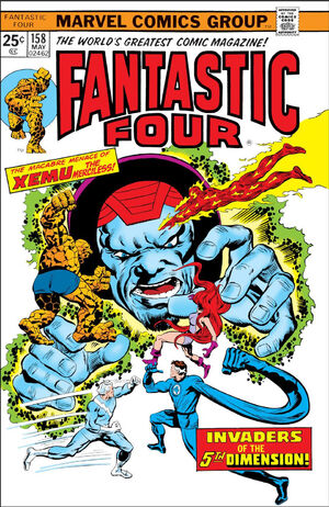 Fantastic Four Vol 1 158