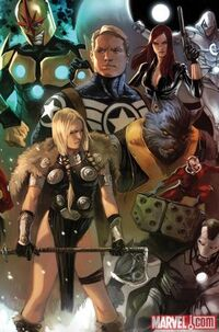 Secret Avengers Vol 1 1 Solicit Marko Variant