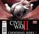 Civil War II: Choosing Sides Vol 1 2