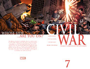 Civil War Vol 1 7 Wraparound