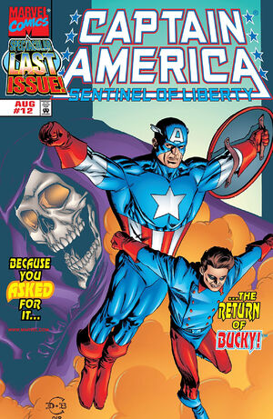 Captain America Sentinel of Liberty Vol 1 12