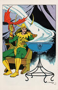 Loki Laufeyson (Earth-616) Pin-Up from Marvel Fanfare Vol 1 20 0001