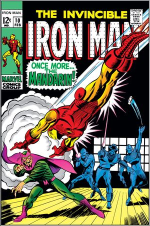 Iron Man Vol 1 10