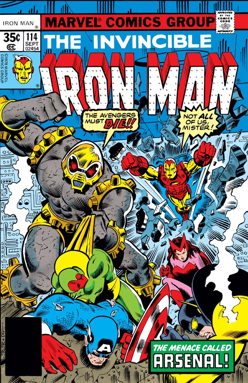 Iron man vol 1 114 marvel database fandom powered by wikia - Iron man 1 images ...