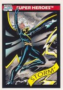 Ororo Munroe (Earth-616) from Marvel Universe Cards Series I 0001