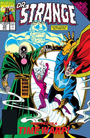 Doctor Strange, Sorcerer Supreme Vol 1 33