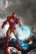 Fantastic Four Vol 4 6 Many Armors of Iron Man Variant Textless