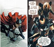 Anthony Stark and Thor Odinson (Earth-616) from Original Sin Vol 1 7 0001