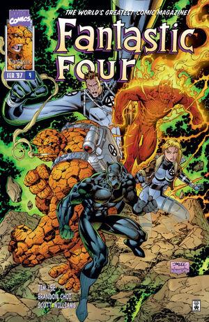 Fantastic Four Vol 2 4