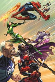 Uncanny Avengers Vol 3 1 Campbell Variant Textless