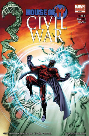 Civil War House of M Vol 1 4