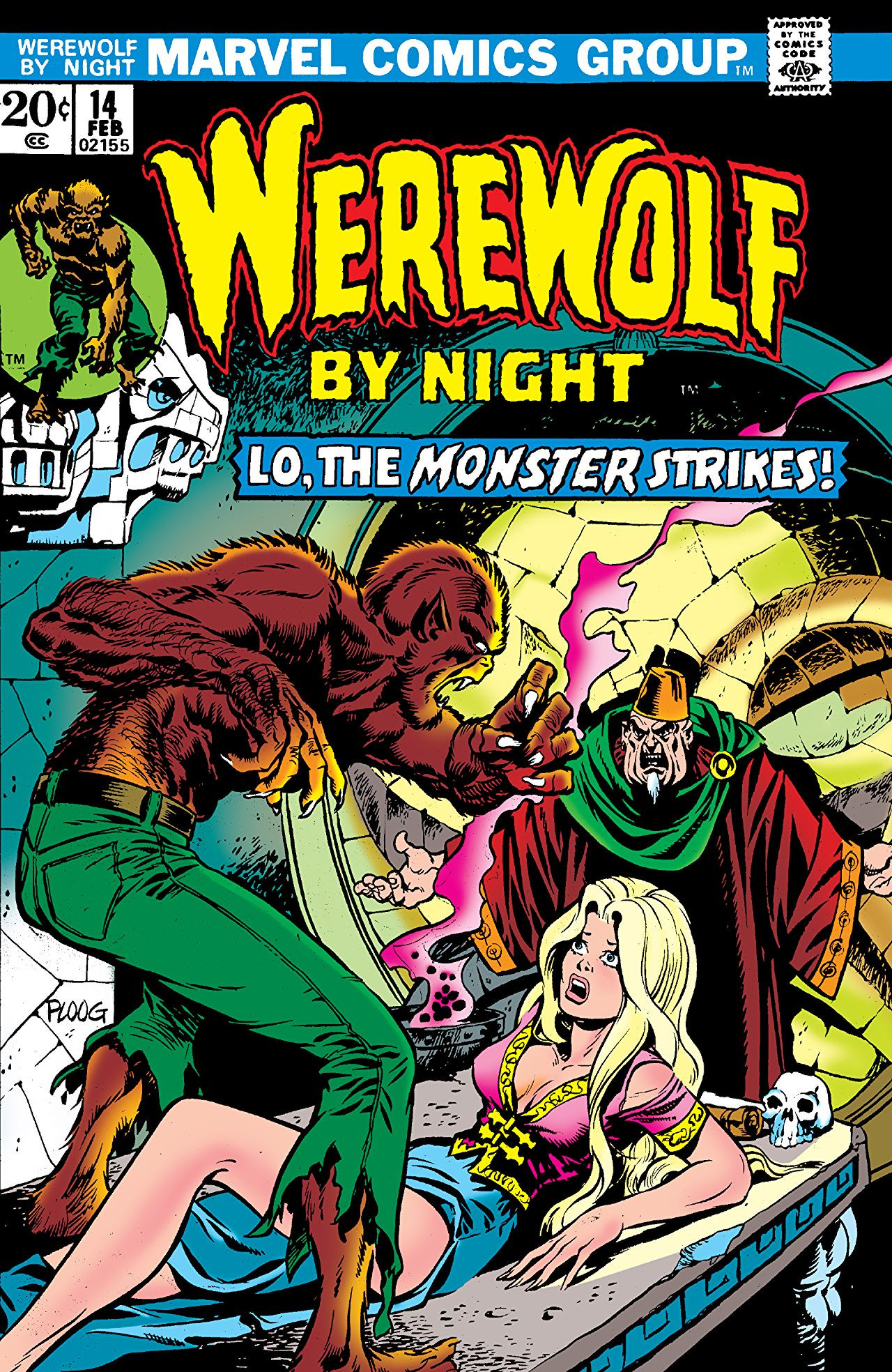 Werewolf by Night Vol 1 14 | Marvel Database | Fandom ...