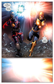Peter Quill (Earth-616) and Richard Rider (Earth-616) from Thanos Imperative Vol 1 6