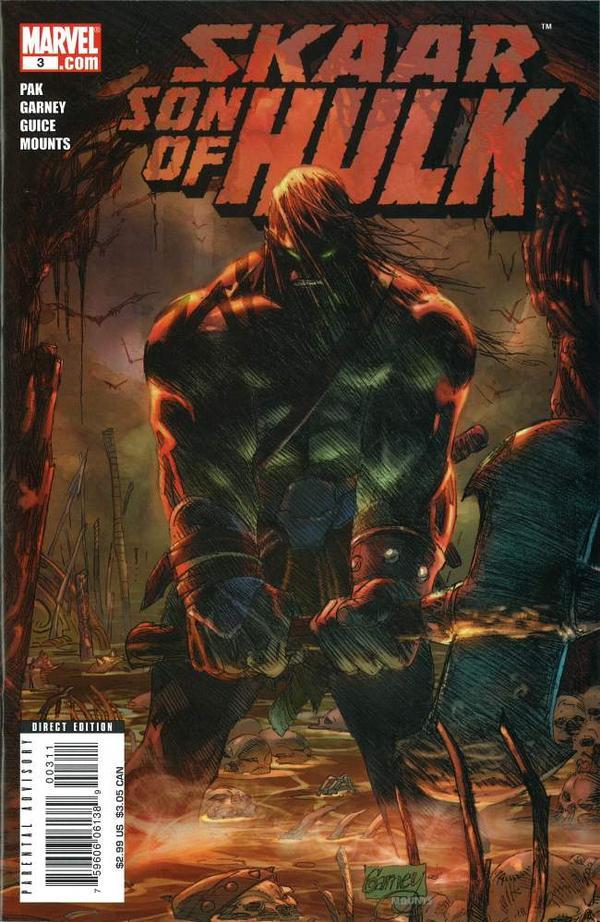 Skaar Son Of Hulk Vol 1 3 Marvel Database Fandom