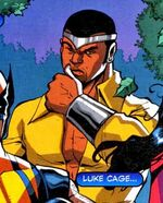 Luke Cage (Earth-9411) Spectacular Spider-Man (UK) Vol 1 147