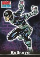 Bullseye (Lester) (Earth-616) from Marvel Legends (Trading Cards) 0001