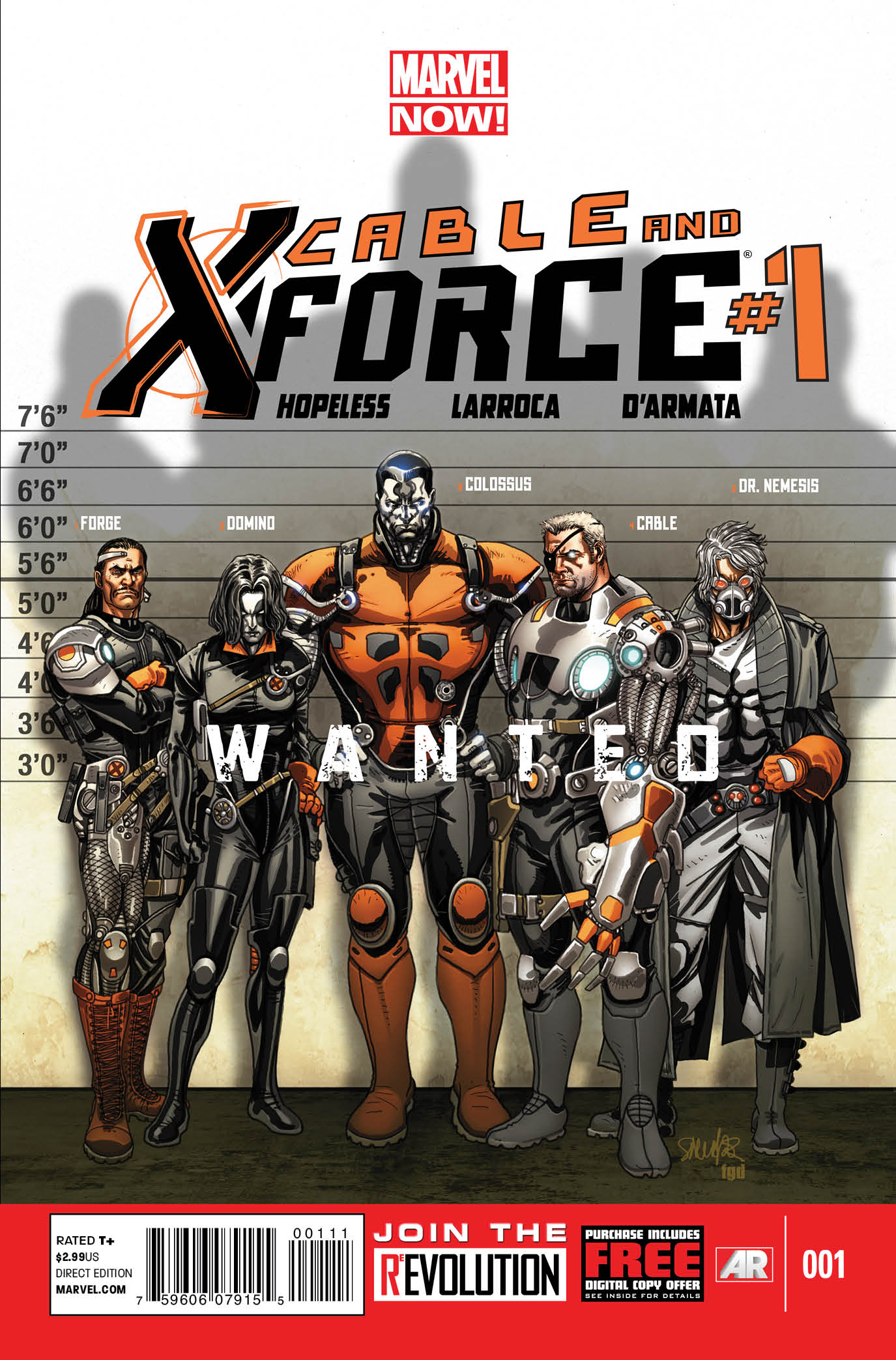 cable and x force vol 1 1 marvel database fandom. Black Bedroom Furniture Sets. Home Design Ideas