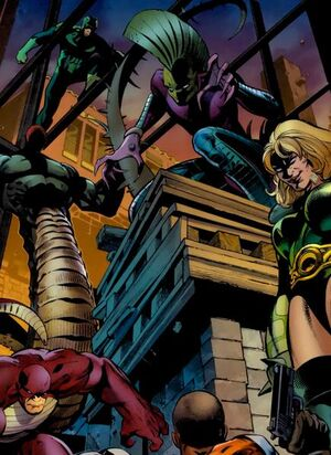 Serpent Society (Earth-616) from Battle Scars Vol 1 3
