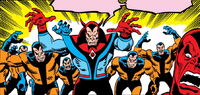Warrior Wizards (Earth-616) from Defenders Vol 1 2 0001