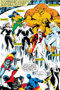 Alpha Flight and X-Men (Earth-616) from X-Men Vol 1 121 0001