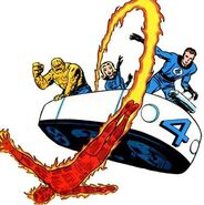 Fantastic Four (Earth-616) from Fantastic Four Vol 1 3 0001