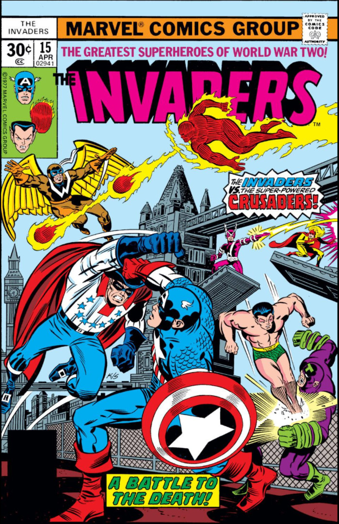 Invaders Vol 1 15 Marvel Database Fandom Powered By Wikia