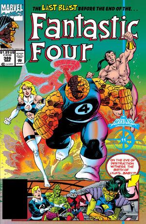 Fantastic Four Vol 1 386