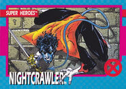Kurt Wagner (Earth-616) from X-Men (Trading Cards) 1992 Set 0001