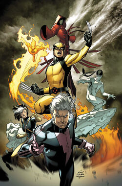 Ultimate Comics X-Men Vol 1 1 Medina Variant Textless