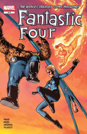 Fantastic Four Vol 1 514