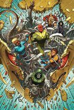 Avengers A.I. Vol 1 1 Araujo Variant Textless
