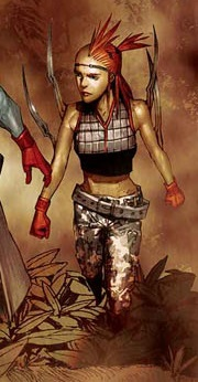 Marrow (Sarah) (Earth-616) from X-Force Vol 5 1 0001