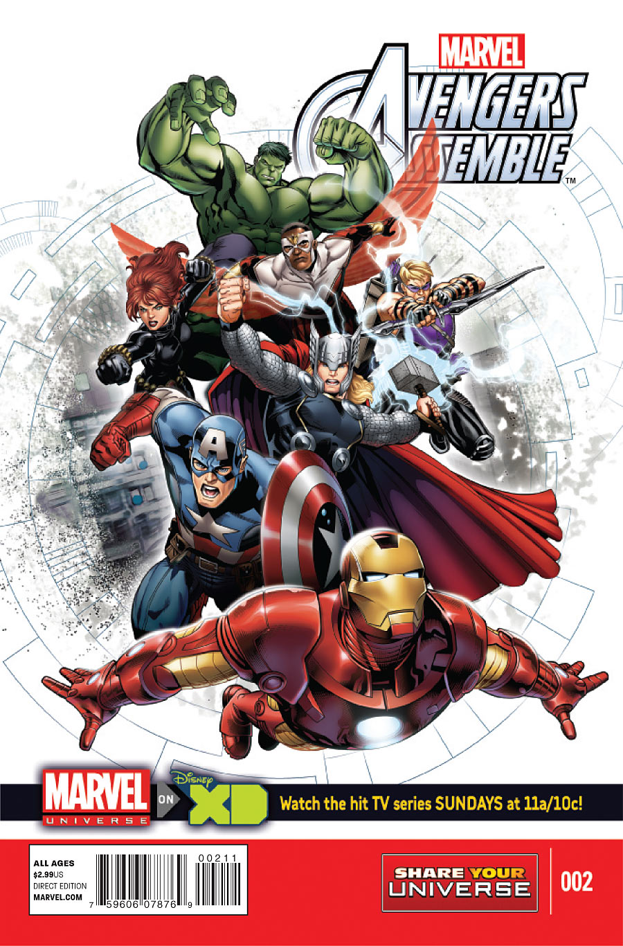 marvel universe avengers assemble vol 1 marvel database fandom powered by wikia. Black Bedroom Furniture Sets. Home Design Ideas