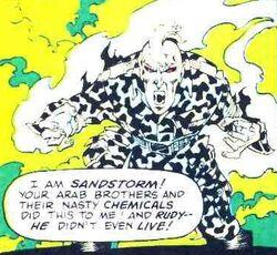 Marvel Comics Presents Vol 1 114 page 33 Sandstorm (Earth-616)