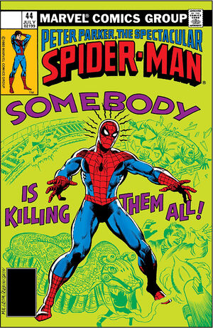 Peter Parker, The Spectacular Spider-Man Vol 1 44