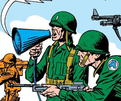 United States Army (Earth-616) from Fantastic Four Vol 1 2 0001