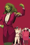 She-Hulk Vol 3 12 Anka Variant Textless