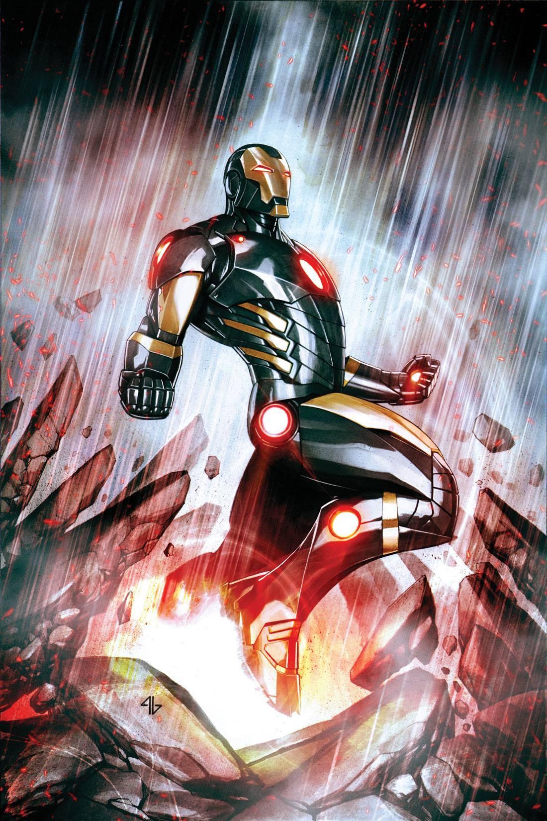 Iron Man Vol 5 1 Granov Variant Textless