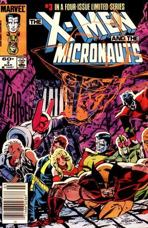 X-Men and the Micronauts Vol 1 3
