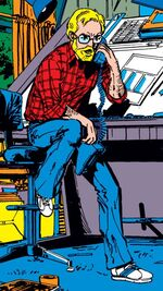 John Bryne (Earth-616) from Fantastic Four Vol 1 262