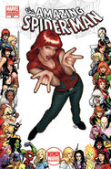 Amazing Spider-Man Vol 1 641 Women of Marvel Variant