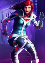 Mary Jane Watson (Earth-TRN461) from Spider-Man Unlimited (video game) 007