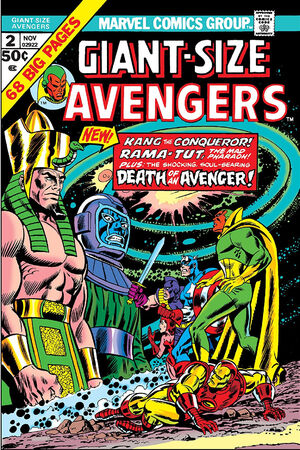 Giant-Size Avengers Vol 1 2
