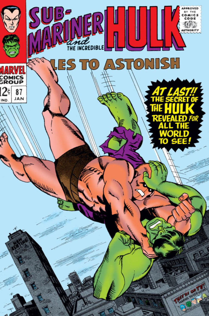 Image result for Tales to Astonish #87