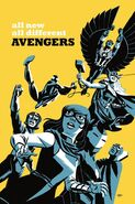 All-New, All-Different Avengers Vol 1 5 Cho Variant Textless