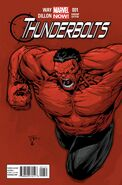 Thunderbolts Vol 2 1 Tan Variant